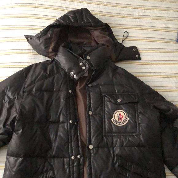 Moncler Classic black coat